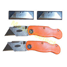 2 x Cutter couteau scalpel pour découpe de moquette de precision -PAS CHER-