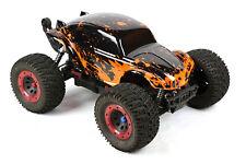 Custom Buggy Body Muddy Orange for 1/8 RC Truck Thunder Tiger MT4 G3 HPI Savage