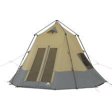 Ozark Trail 12' x 12' Instant Tepee Tent Sleeps 7 Tent Dome Sun Shade Portable
