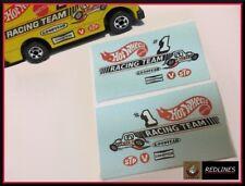 1981 Hot Wheels 'Racing Team Van' Reproduction Decal SCR-0269