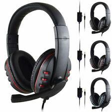 3.5mm enchufe juegos Gaming cascos auriculares micrófono para PS4 XBOX-ONE PC