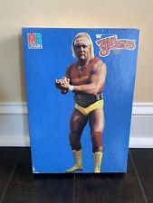 Nip Vintage Mb Wwf Wrestling Superstars Hulk Hogan 250 Piece Jigsaw Puzzle 1985