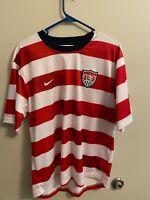 Nike USA US Soccer USMNT Rare 2012 Waldo Home Jersey Size L