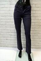 Jeans Pantalone Viola Donna SIVIGLIA Taglia Size 28 Pants Woman Vita Alta