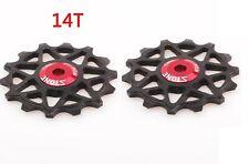 MTB Bicycle Narrow Wide Jockey Wheel 12/14T Rear Derailleur Pulley For Sram
