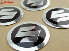 5.5cm Fuel Oil Tank Fairing Fender Side Decal Sticker 4x for Suzuki S Logo Badge