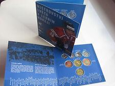 TSCHECHIEN 2004 KMS MÜNZEN SATZ COIN SET ST BU - IIHF EISHOCKEY WM IN PRAG -