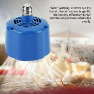 100-300W Cultivation Heating Lamp Thermostat Fan Heater Light For Chicken/Pigs