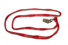 CANADA RED COUNTRY FLAG SHOE LACE LANYARD KEYCHAIN PASSHOLDER .. NEW