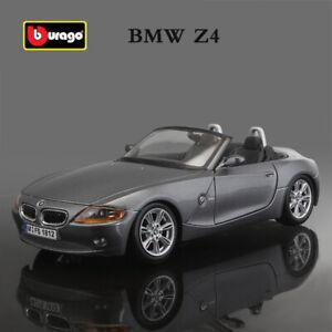 BBURAGO BMW Z4 Roadster 1:24 Alloy Diecast Model Car Toys Collection RARE