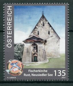 Austria 2021 MNH Architecture Stamps Churches Fishermen Church Rust 1v Set