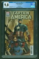 Captain America #1 CGC 9.8 Garney Variant Cover Edition 2018 LGY 705 Ron