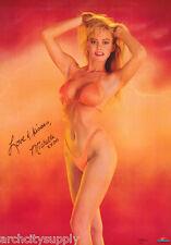POSTER: MICHELLE SMITH  - BIKINI - SEXY FEMALE MODEL - FREE SHIP #2632 RAP130 B