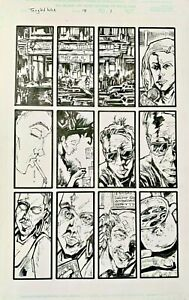 Ted McKeever - Spiderman's Tangled Web #18 pg 1 - Typical McKeever art