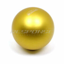 BLOX Racing 142 Spherical Shift Knob Gold Aluminum Fits Honda Acura M10xP1.50