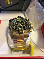 NEW Invicta Reserve Grand Octane Arsenal Swiss Movt Chronograph Gold Tone  0337
