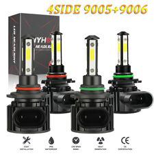 4 Side 9005 9006 Led Headlight Bulbs High Low Beam Super Bright 4800w 672000lm W