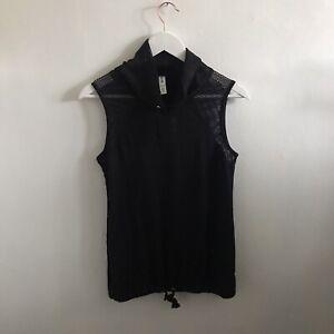 Kyodan Vest Size Extra Small Grey Workout Fitness Gymwear Womens Essentials