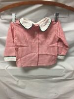 Vintage Little Bitty Baby Toddler Striped Pajama Top Shirt Sz 12