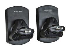 Speaker Wall Mounting Bracket - Black (Max 22 LBS) - Set of 2