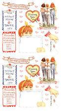 Susan Branch GOOD FRIENDS Scrapbook Stickers Gossip 2 Sheets