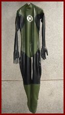 COMBINAISON LATEX  RUBBER CATSUIT - GUMMIANZUG  green