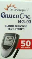 Dr Morepen Gluco One BG 03 Blood Glucose Test Strip, 50 strips, only strips