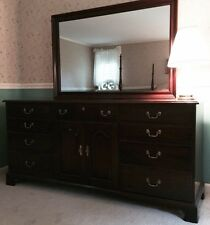 5-Piece Mahogany Bedroom Set-$4750-Henkel-Harris/Virginia Galleries