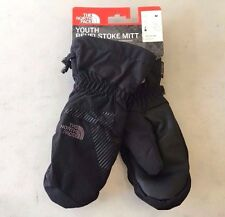 NEW! Youth NORTH FACE 'Revelstroke' TNF Black WINTER Mitt Mitten Ski Gloves, M
