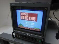 "Sony Trinitron PVM-5041Q 5"" Retro Gaming Color Professional Video Monitor"