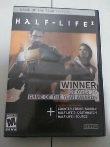 Half-Life 2: Game of the Year Edition (PC, 2005)... 5 Discs and Reference Card