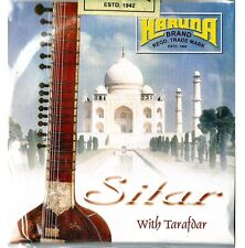 Sitar Strings, Karuna, complete set with sympathetic (tarabh) strings 7+11
