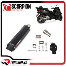 Slip On Exhaust Scorpion Serket Motorcycle Piaggio MP3 400/400LT 2008-2013