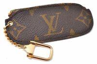 Authentic Louis Vuitton Monogram Pochette Cles Coin Case Old Model LV B7957