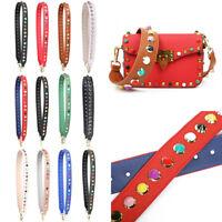 DIY Wide Leather Crossbody Bag Straps Replacement Shoulder Handbag Purse Handle