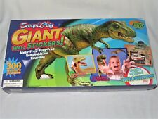 New in Box Scene & Play Giant Wall Stickers! Imagine My Room! Dinosaurs! grrr!