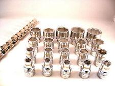 """Super agarrar Socket Set, Xi-en la tecnología, 10mm - 32mm 1/2"""", New Reino Unido Stock"""