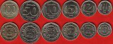 Yugoslavia set of 6 coins: 1 - 100 dinara 1993 UNC