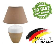 Honsel 56177 Derby Tischleuchte Beleuchtung Tischlampen Lampe Leuchte Cappuccino