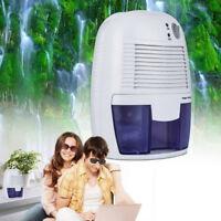 500ml Air Filter Dehumidifier Reduce Moisture Portable Dryer Bathroom Home Damp