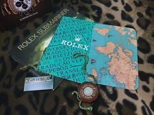ROLEX 5X BOOKLET SET SUBMARINER 14060 16610 SEA-DWELLER 16600 SPANISH SPA 3.1998