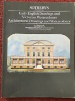Sotheby's Catalogue Early English Drawings & Watercolours 27 & 28 April 1988
