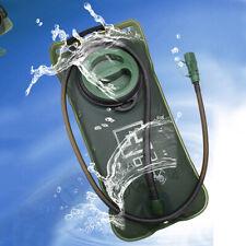2 Liter Water Bladder Leakproof Water Reservoir Camping Hydration Pack sale