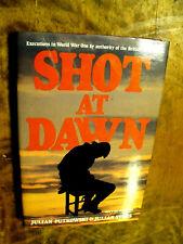 Shot at Dawn by Julian Putkowski and Julian Sykes