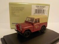 Model Van, Land Rover Series 2 - British Rail, Canvas, 1/76 New