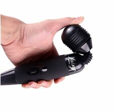 Black Fairy Mini Electric Power Vibrating Personal Magic Wand Body Massager