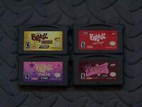Lot Nintendo Game Boy Advance GBA Games Bratz: Forever Diamondz, Rock Angelz + 2