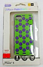 CASE LOGIC 2 Piece Protective Case for iPhone 5 Purple/Green