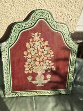 More details for asian painted wall plaque