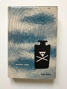 Alvin Lustig New Directions New Classics #20 Monday Night Kay Boyle